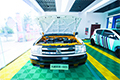 崭新的新能源实训汽车