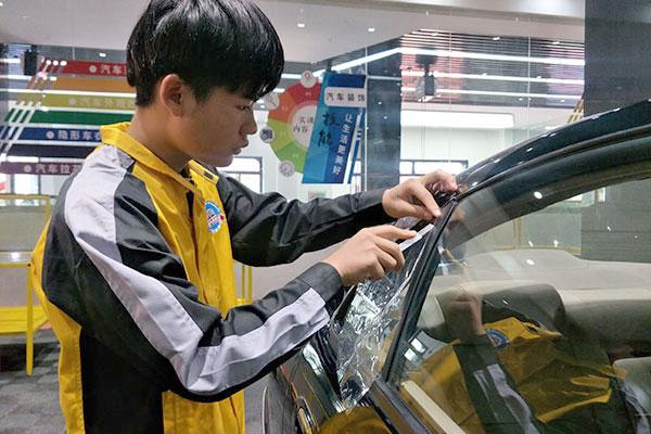 18岁学汽车美容:有技术才会有未来