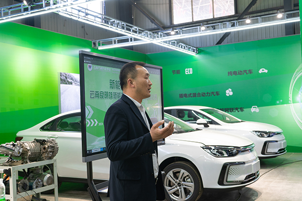 企业大咖进校园,分享新能源汽车行业前景