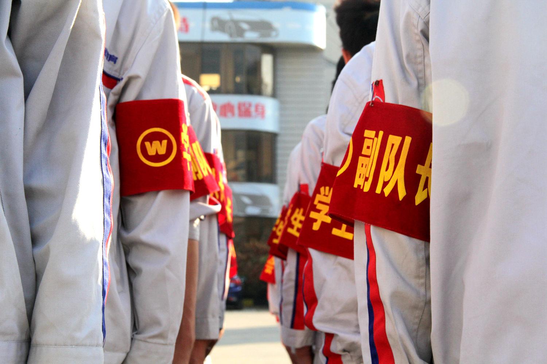 红色袖套是我们的荣耀与骄傲