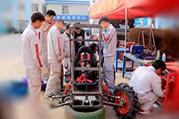 巴哈不是一个人,一辆车的比赛,而是团队的努力与坚持,这样才是真正的巴哈精神!